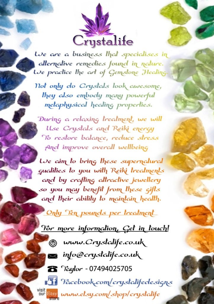 Crystalife Intro V3 A5 723x1024 - New Flyer!