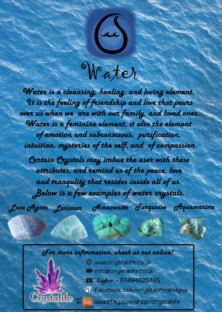 WATER 731x1024 - Elements Range: Water