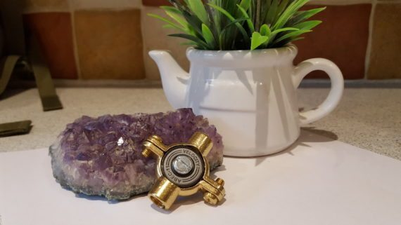 20161025 110948 570x321 - Brass Fidget Spinner Toy - EDC, ADHD, Concentration