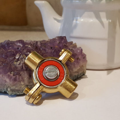 Brass Fidget Spinner Toy - EDC, ADHD, Concentration