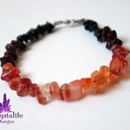 Volcanic Gemstone Bracelet  | Healing | Meditation | Yoga | New Age | Metaphysical | Reiki | Gemstone Jewellery | Gift |