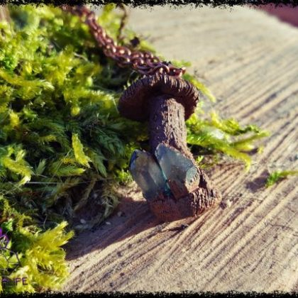 Little Magic Mushroom Pendant 6