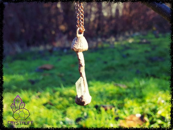 Little Magic Mushroom Pendant 9