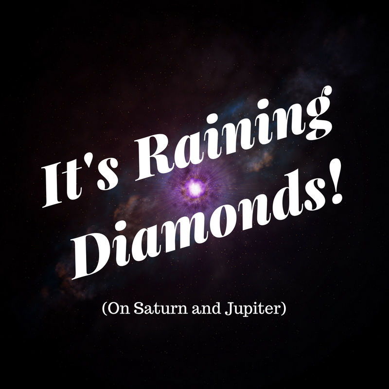 Image result for diamond rain saturn