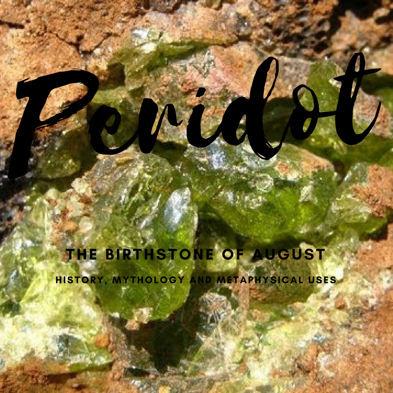 Peridot birthstone of august