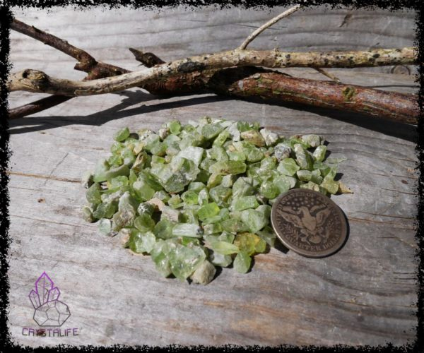 Green Peridot Crystals for gemstone jewellery, Crystal jewelry and crystal healing. Jewellery Making Supplies.