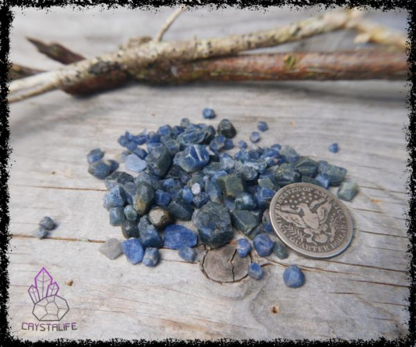 Rough Sapphire Crystals and gemstones for jewellery making, jewelry supplies, crystal healing and crystal grids