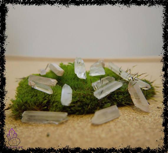 natural raw clear quartz crystal gemstone crystal healing 5a21b47c - CLEAR QUARTZ CRYSTAL Gemstone