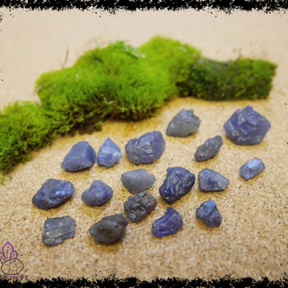 Natural Tanzanite Crystals and Gemstones for Crystal Healing and Handmade Jewellery