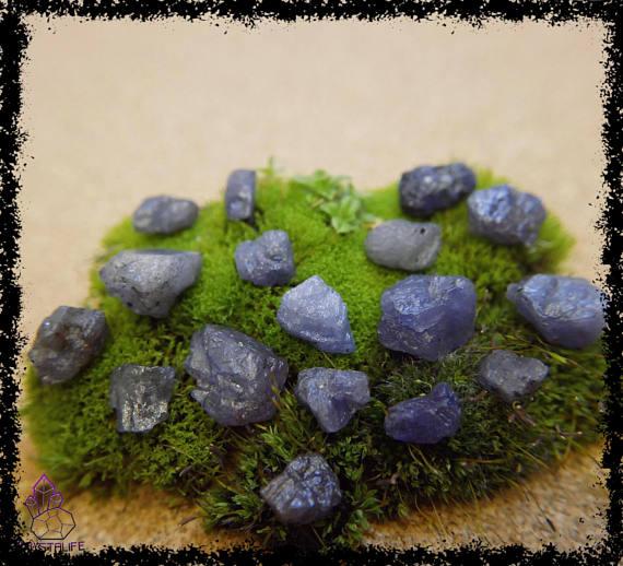 natural raw rough tanzanite crystal gemstone 100 carat crystal healing metaphysical jewellery making zodiac yoga meditation 5a21b1d8 - PURPLE TANZANITE GEMSTONES 100 Carats Uncut, Rough Crystal.