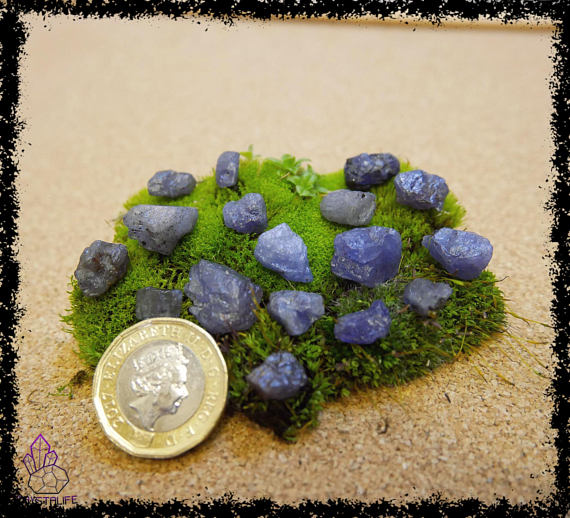 natural raw rough tanzanite crystal gemstone 100 carat crystal healing metaphysical jewellery making zodiac yoga meditation 5a21b1f3 - PURPLE TANZANITE GEMSTONES 100 Carats Uncut, Rough Crystal.