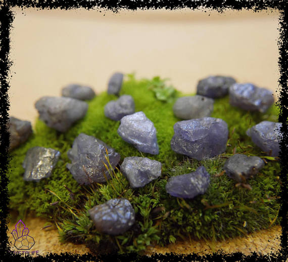 natural raw rough tanzanite crystal gemstone 100 carat crystal healing metaphysical jewellery making zodiac yoga meditation 5a21b202 - PURPLE TANZANITE GEMSTONES 100 Carats Uncut, Rough Crystal.