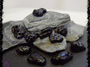 Tibetan Moldavite Tektite tumblestones for crystal healing