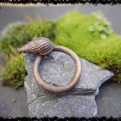 sea shell copper ring 5a21b2c6 420x420 - The Curious, Curing Power of Copper Jewellery