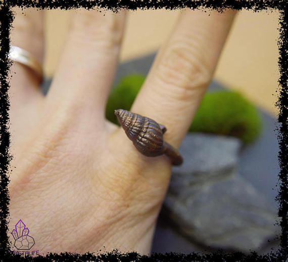 sea shell copper ring 5a21b319 - Sea Shell Copper Ring