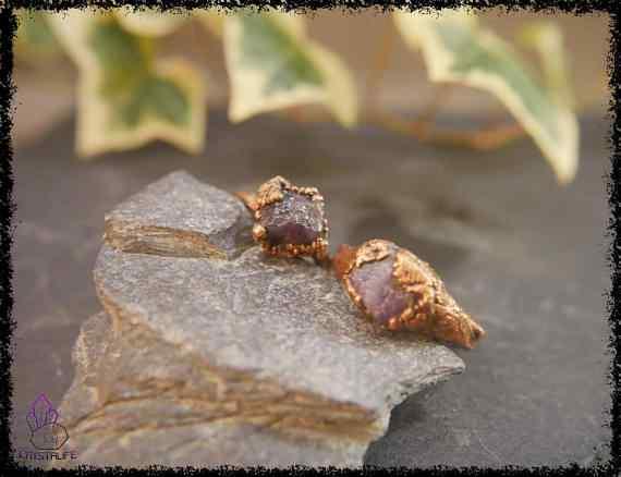 raw amethyst gemstone ring 5a5d296b - Raw Amethyst Gemstone Ring - Copper Electroformed