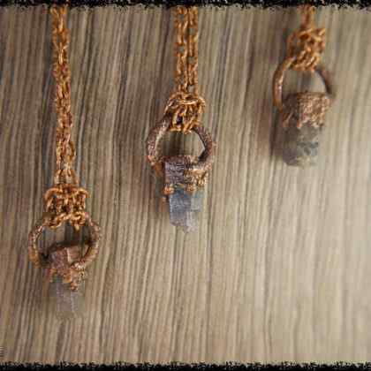 raw sapphire gemstone pendant 5a5d27c7 420x420 - The Curious, Curing Power of Copper Jewellery