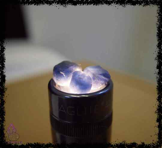 raw sapphire gemstone ring 5a5d28f0 - Raw Sapphire Gemstone Ring - Copper Electroformed