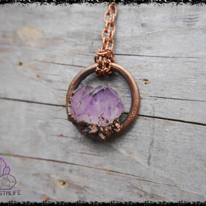 amethyst spirit quartz crystal pendant 5af8c641 420x420 - The Curious, Curing Power of Copper Jewellery