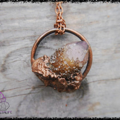 citrine spirit quartz crystal pendant 2 5af8c709 420x420 - The Curious, Curing Power of Copper Jewellery