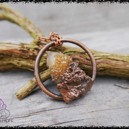 citrine spirit quartz crystal pendant 3 5af8c777 420x420 - The Curious, Curing Power of Copper Jewellery