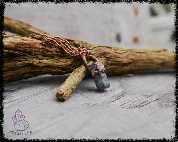 raw sapphire gemstone pendant 5b18e0fa - RAW SAPPHIRE Gemstone Pendant
