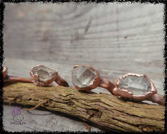 herkimer diamond gemstone ring 5b55b350 - HERKIMER DIAMOND GEMSTONE Ring