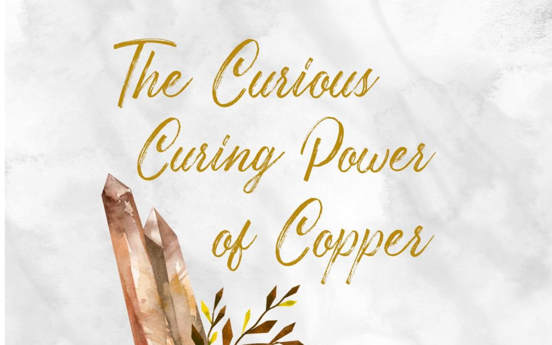 benefits of copper jewellery. spiritual properties