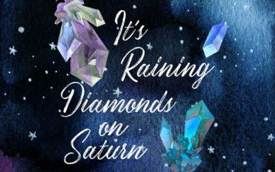 It's Raining Diamonds on Saturn!