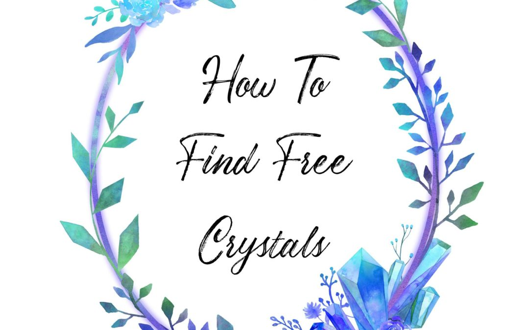 Find free crystals for crystal collection