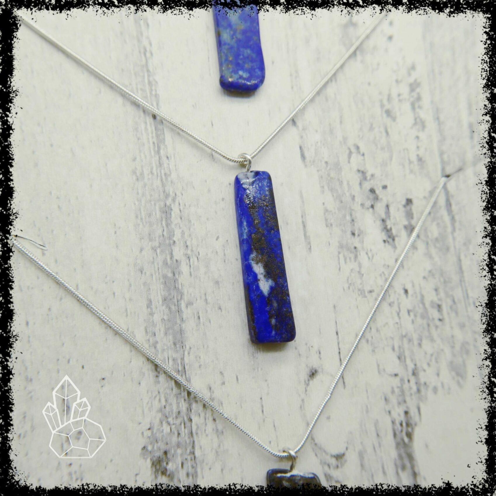 Lapis Lazuli Necklace  Lapis Lazuli Pendant  September Birthstone Necklace  Libra Necklace  Libra Jewelry  Lapis Lazuli Jewelry